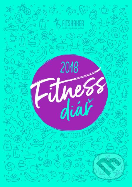 Fitness diář 2018 (český jazyk) -