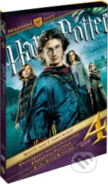 Harry Potter a ohnivá čaša - 3 DVD