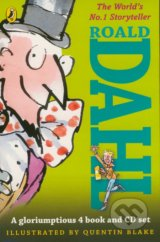 Roald Dahl (4 Book and CD Set)