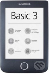 "PocketBook 614 Basic 3, 6"" E Ink®Carta™ 800 × 600 -"