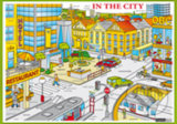 In the city -
